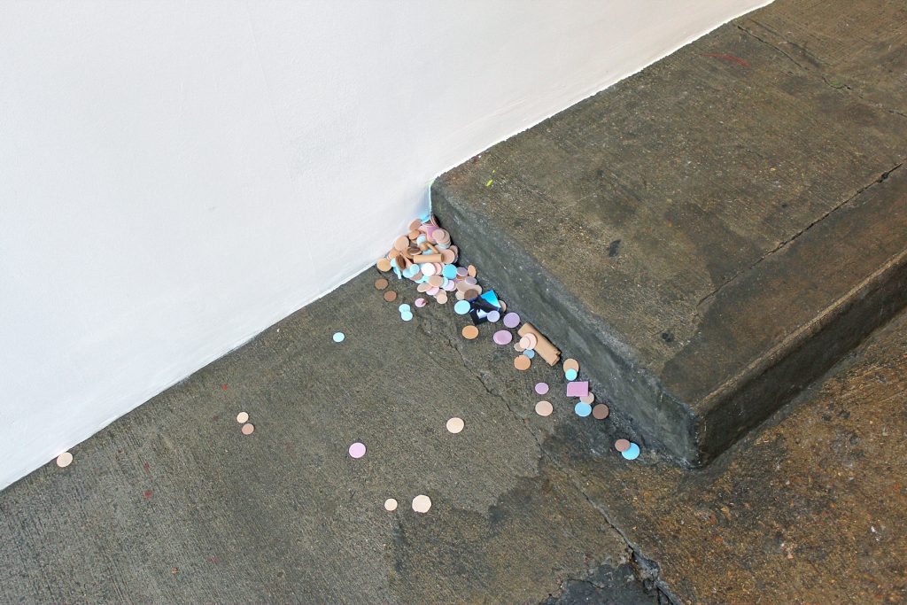 I read somewhere, that the true state of a culture is most easily determined by the shit thats left on the ground. It was something thing that an archaeologist said...I think, 2016 Silicone rubber, photographs Dimensions variable