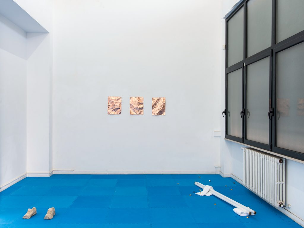 Soft Boundaries, Rowena Harris, The Gallery Apart, Rome, Italy